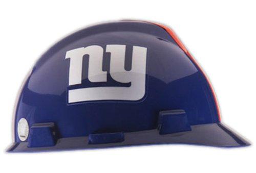 MSA Safety Works 818434 NFL Hard Hat, New York Giants