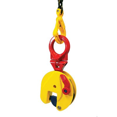 Terrier 2 Ton Universal Vertical Plate Clamp (TSEU) WLL - 4,400 LBS Jaw Opening 0-1.38