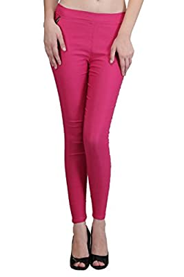Desi Aura High Quality Cotton Lycra Blend, and Colorful Fashionable denim Leggings for Women(Jeggings)