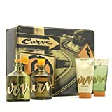 Curve By Liz Claiborne For Men. Gift Set ( Cologne Spray 4.2 Oz + Aftershave 4.2 Oz + Skin Soother 2.5 Oz + Hair & Body Wash 2.5 Oz).
