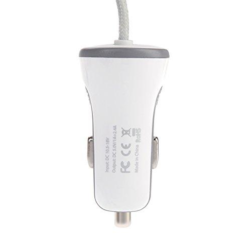 dodocool 17W2.4Aライト 1AのUSBポート カーチャージャー iPhone 5 5s 5c 6 Plus iPad Air mini対応 【並行輸入品】