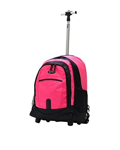 Olympia 19-Inch Rolling Backpack PK, Pink