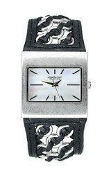Kenneth Cole Women's Leather and Links watch #KC2439