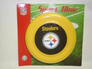 NEW Pittsburgh Steelers Sport Disc NFL Frisbee Dog Toy