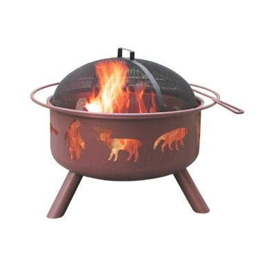 Landmann-28347-Big-Sky-Fire-Pit-Wildlife