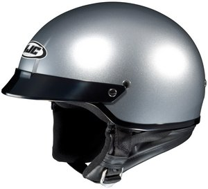 HJC CS-2N LT. SILVER SIZE:MED Motorcycle Open-Face-Helmet