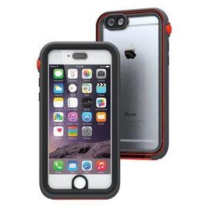 日本正規代理店品 catalyst 5m完全防水・防塵・耐衝撃ケース for iPhone6 ブラック/オレンジ CT-WPIP144-BKOR