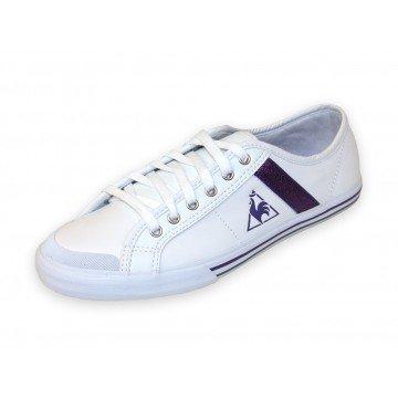 Le Coq Sportif SAINT MALO LEA/GLITTER white/purple