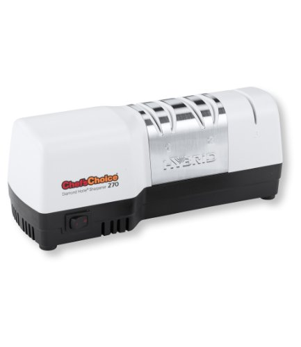 Chef'S Choice 270 Diamond Hone Hybrid Knife Sharpener, White