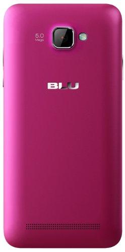 848958007715 - BLU Dash 5.0 D410a Unlocked Dual SIM  GSM Phone (Pink) carousel main 1