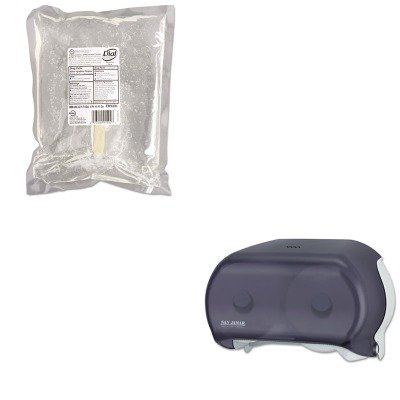 KITDPR91502SJMR3600TBK - Value Kit - Dial Antimicrobial Soap for Sensitive Skin (DPR91502) and San Jamar Versatwin Tissue Dispenser (SJMR3600TBK)