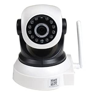 VideoSecu Wireless Audio Video IP Day Night Vision Security Camera with Pan Tilt Wi-Fi for iPhone, iPad, Android Phone or PC Remote View MZ7