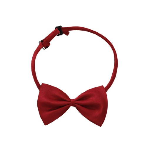 Men Polyester Adjustable Strap Clip-On Installation Bow Tie