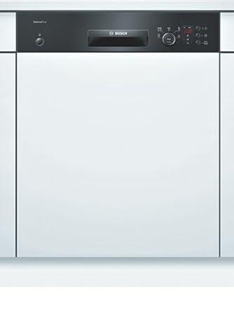 Bosch SMI50E86EU Semi intégré 13places A+ Noir, Blanc lave-vaisselle - laves-vaisselles (Semi intégré, A, A+, Noir, Blanc, A, Auto, Économie, Intensif, Pré-lavage, Rapide)