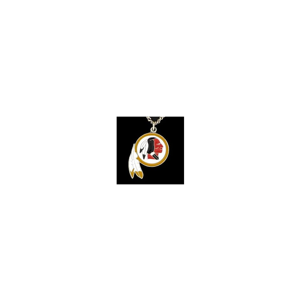 Washington Redskins NFL Team Logo Necklace Sports on PopScreen 7a570c89b