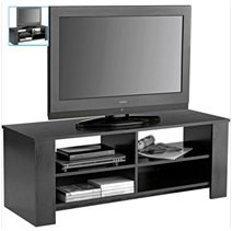Cheap  TV Stand  Television Cabinet 4 Open Shelves  Ash Entertainment Unit