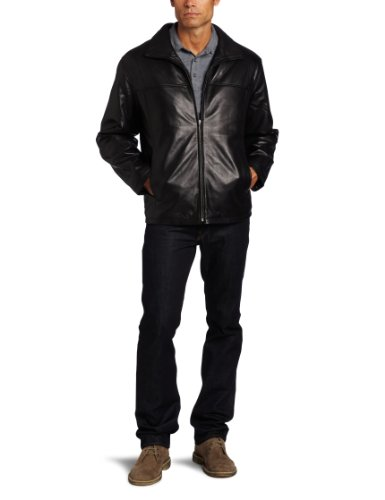 Boston Harbour Men's Leather Jacket