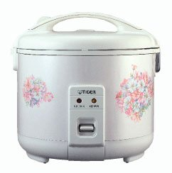 Tiger America 3 c. Elec Rice Cooker/Food Ste ( JNP-0550 )