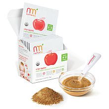 NurturMe, Dried Organic Babyfood, Crisp Apples, 8 Pouches .46 oz (13 g) Each