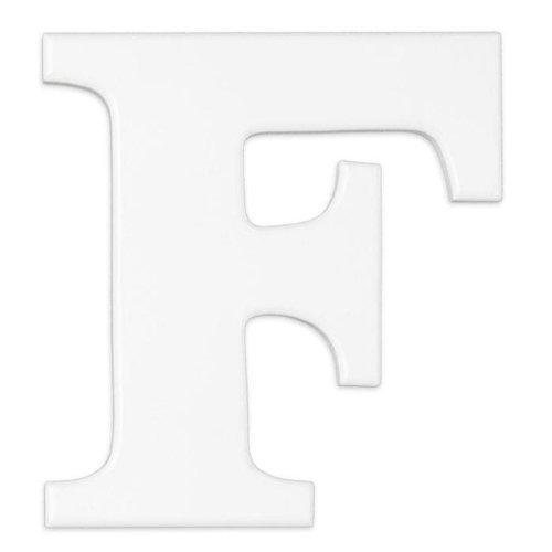 """""""White Wooden Letter """"""""F"""""""""""" - 1"""