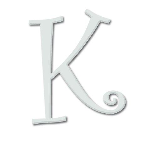 aBaby Curlz Letter, K, Angel Blue