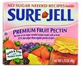 "Sure Jell Premium Fruit Pectin ""for less or no sugar needed recipes"" -- 1.75 oz"