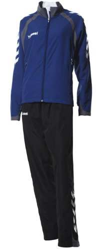 Hummel Team Spirit Womens Training Suit - XS, Blue/Black