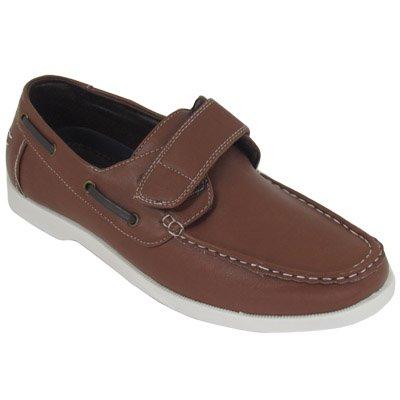 Mens Boat Shoe Flat Fashion Shoes Contrast Stitch Detail Deck Shoes Size 7-11
