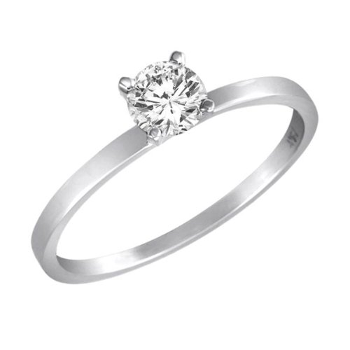 6mm White Gold Wedding Band