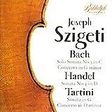 Bach/Handel/Tartini Sonatas (Szigeti)