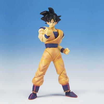 Dragonball Z BanDai Hybrid Action Mega Articulated 4 Inch Action Figure Goku