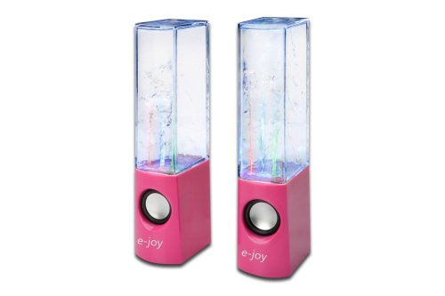 E-Joy Plug And Play Dancing Water Speaker (Red)