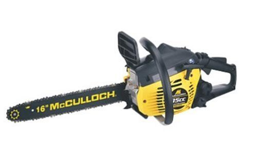 McCulloch MCC1635A 16-Inch 35cc 2-Cycle Gas-Powered Chain Saw