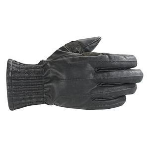 Alpinestars Stella Munich Drystar Womens Gloves , Size: XS, Gender: Womens, Distinct Name: Black, Primary Color: Black, Apparel Material: Textile 3512511-10-XS