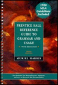 Prentice Hall Reference Guide to Grammar and Usage With Exercises/With     Mla 98 Update