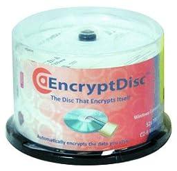 Rocky Mountain Ram EncryptDisc CD Recordable Media - CD-R - 700 MB - 50 Pack EDCDR-50