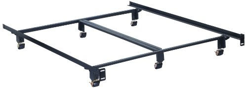Hollywood Bed Frame With Wide Rollers
