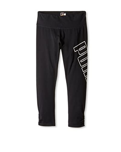 Puma Women's Cropped Puma Logo Legging