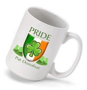Personalized Irish Pride Coffee Mug