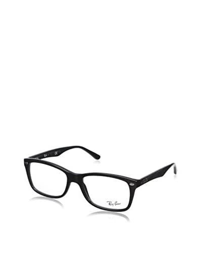 Ray-Ban Women's RX5228 Square Eyeglasses, Shiny Black