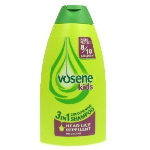Vosene Kids 3 in 1 Conditioning Shampoo Head Lice Repellent 250ml images