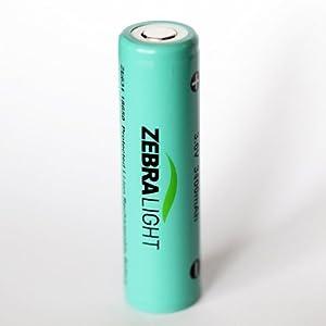 Amazon.com: Zebralight VERY HIGH-Performance ZL634 3400mAh ...