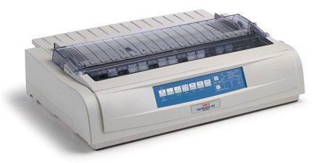 OKI62419003 - Microline 491N Network-Ready 24-Pin Dot Matrix Printer