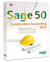 Sage 50 Construction Accounting 2013 3-User UPGRADE