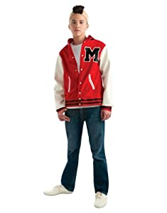 Glee Costume, Teen Puck Football Player Costume, Teen, CHEST 34 - 36""