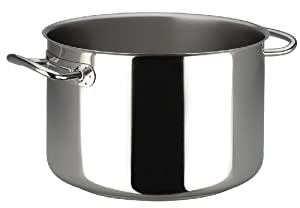 Sitram Profiserie 10.6-Quart Commercial Stainless Steel Half Stockpot
