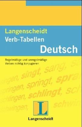 Langenscheidts Verb Tabellen (German Edition)