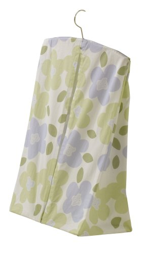Sumersault Lauren Diaper Stacker - Lilac and Sage