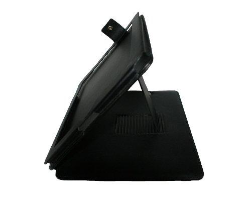 Case Busta Custodia pelle PU per iPad 2 e iPad 3 nero elegante di RBrothersTechnologie
