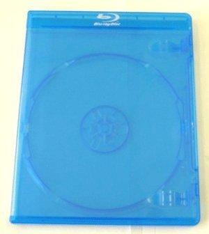 Mediarange - Custodie di ricambio singole per dischi Blu-Ray, in materiale rigido, confezione da 10 pezzi, 11 mm